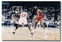 "Michael Jordan Signed Chicago Bulls ""Driven"" Limited Edition 16x24 Photo (UDA COA) at PristineAuction.com"