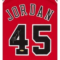 Michael Jordan Signed Bulls Mitchell & Ness Jersey (UDA COA) at PristineAuction.com
