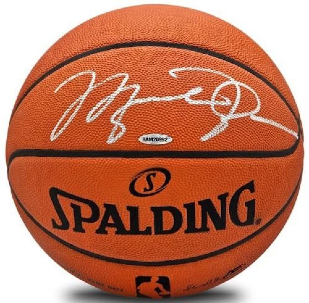 Michael Jordan Signed Authentic Spalding Basketball (UDA COA) at PristineAuction.com