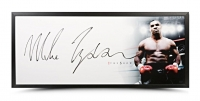 "Mike Tyson Signed ""The Show"" 46x20 Custom Framed Photo (UDA COA)"