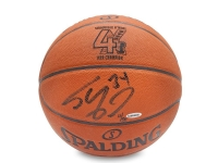 Shaquille O'Neal Signed Spalding 4X NBA Champion Basketball (UDA COA) at PristineAuction.com