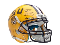Shaquille O'Neal Signed LSU Tigers Limited Edition Full-Size Authentic On-Field Helmet (UDA COA) at PristineAuction.com
