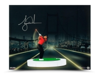 "Tiger Woods Signed ""The Bridge At Night"" Limited Edition 16x20 Photo (UDA COA) at PristineAuction.com"
