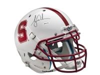 Tiger Woods Signed Stanford Cardinal Full-Size Helmet (UDA COA)