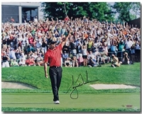 "Tiger Woods Signed ""73rd Victory"" 16x20 Limited Edition Photo (UDA COA)"