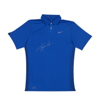Tiger Woods Signed Limited Edition Nike Performance Graphic Polo Shirt (UDA COA) at PristineAuction.com