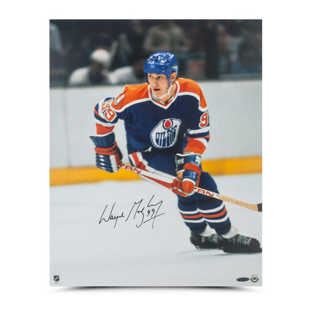"Wayne Gretzky Signed Oilers ""Rookie Season"" 16x20 Photo (UDA COA) at PristineAuction.com"