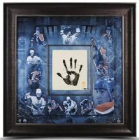 "Wayne Gretzky Signed ""Tegata"" 36x36 Custom Framed Hand-Stamped Career Mosaic LE 99 (UDA COA)"