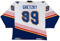 Wayne Gretzky Signed St. Louis Blues Jersey (UDA COA) at PristineAuction.com