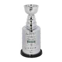 "Wayne Gretzky Signed Stanley Cup Replica Trophy Inscribed ""Cup 84 85 87 88"" (UDA COA) at PristineAuction.com"