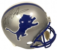 Barry Sanders Signed Lions Riddell Full-Size Helmet (JSA COA) at PristineAuction.com