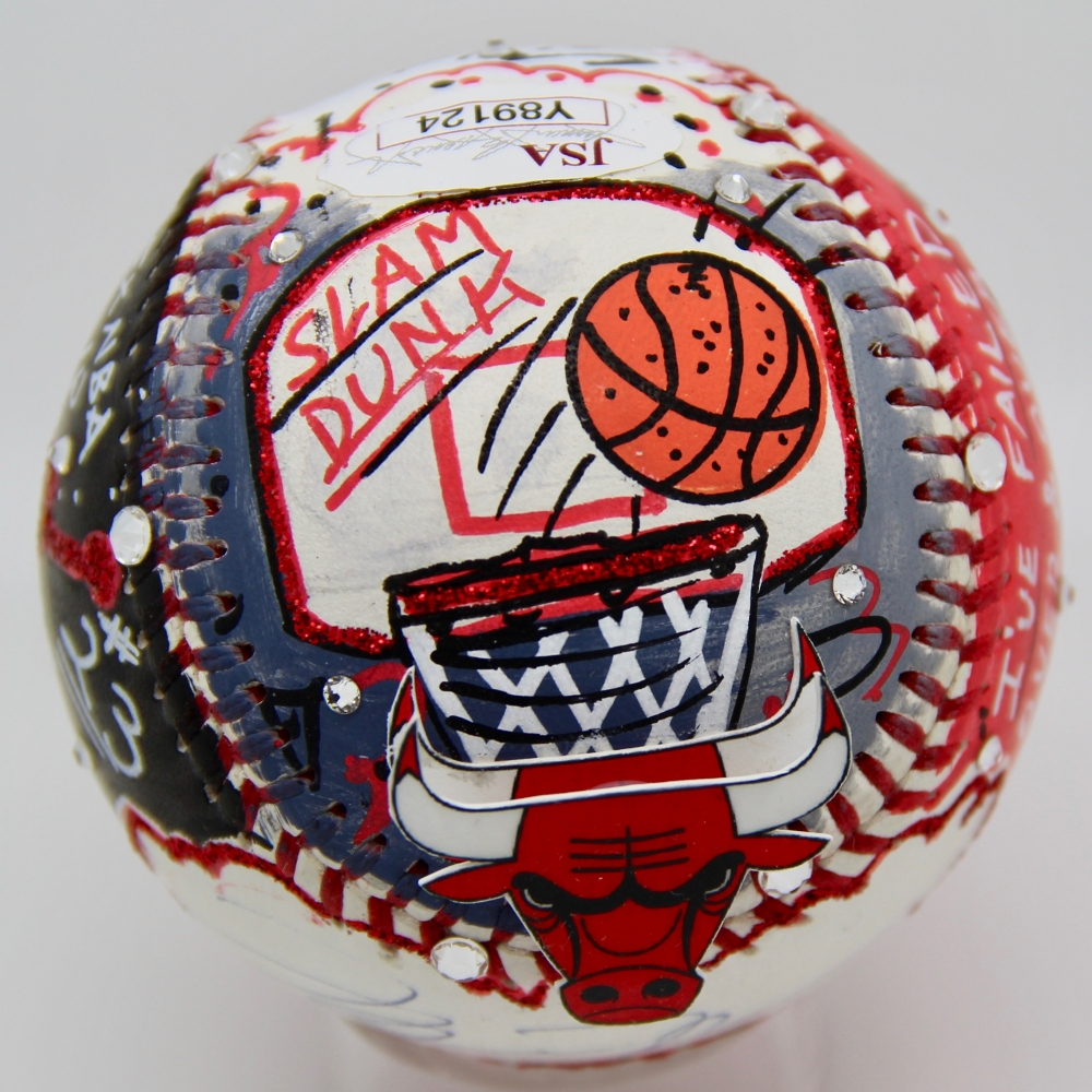 Aaron Judge Signed 1/1 Charles Fazzino Pop Art Baseball