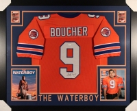 "Adam Sandler ""Boucher"" Signed The Waterboy 35x43 Custom Framed Jersey (JSA COA) at PristineAuction.com"