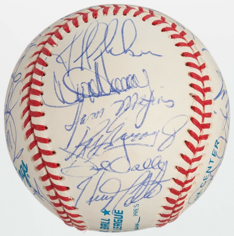 e6a2825606 CLICK TO ENLARGE. 1993 Mariners OAL Baseball Team-Signed by (28) with Ken  Griffey Jr,