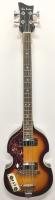 "Pete Best Signed Glen Burton Bass Guitar Inscribed ""The Beatles"" (JSA COA)"