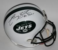 "Curtis Martin Signed Jets Full-Size Helmet Inscribed ""Go Jets!"" (PSA COA) at PristineAuction.com"