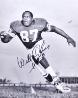 "Willie Davis Signed Packers 8x10 Photo Inscribed ""HOF 81"" (PSA COA)"