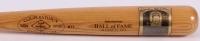 Mickey Mantle Signed Custom Engraved LE Gold HOF Postcard Cooperstown Baseball Bat (JSA LOA)