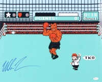 """Mike Tyson Signed """"Punch-Out"""" 16x20 Photo (JSA COA)"""