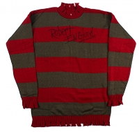"Robert Englund Signed ""A Nightmare on Elm Street"" Movie Prop Replica Freddy Krueger Sweater (Englund & PA COA)"