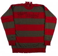 "Robert Englund Signed ""A Nightmare on Elm Street"" Movie Prop Replica Freddy Krueger Sweater (Englund & PA COA)"