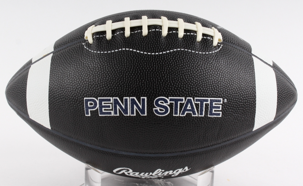 James Franklin Signed Penn State Nittany Lions Logo ...