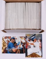 Complete Series 1 of (400) 1996 Pinnacle Baseball Cards with #99 Don Mattingly, #171 Derek Jeter