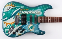 "Dan Marino Signed Miami Dolphins Custom NFL Woodrow Northender Electric Guitar Inscribed ""HOF 05"" (Fanatics Hologram)"