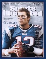 Tom Brady Signed Patriots 16x20 Photo (Steiner COA & Tristar Hologram)