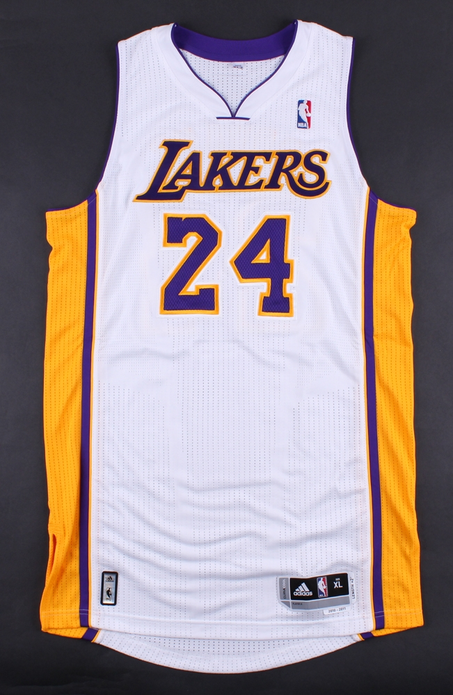 1049cda8a ... Kobe Bryant Signed Lakers Authentic Jersey (Panini COA) at  PristineAuction.com ...