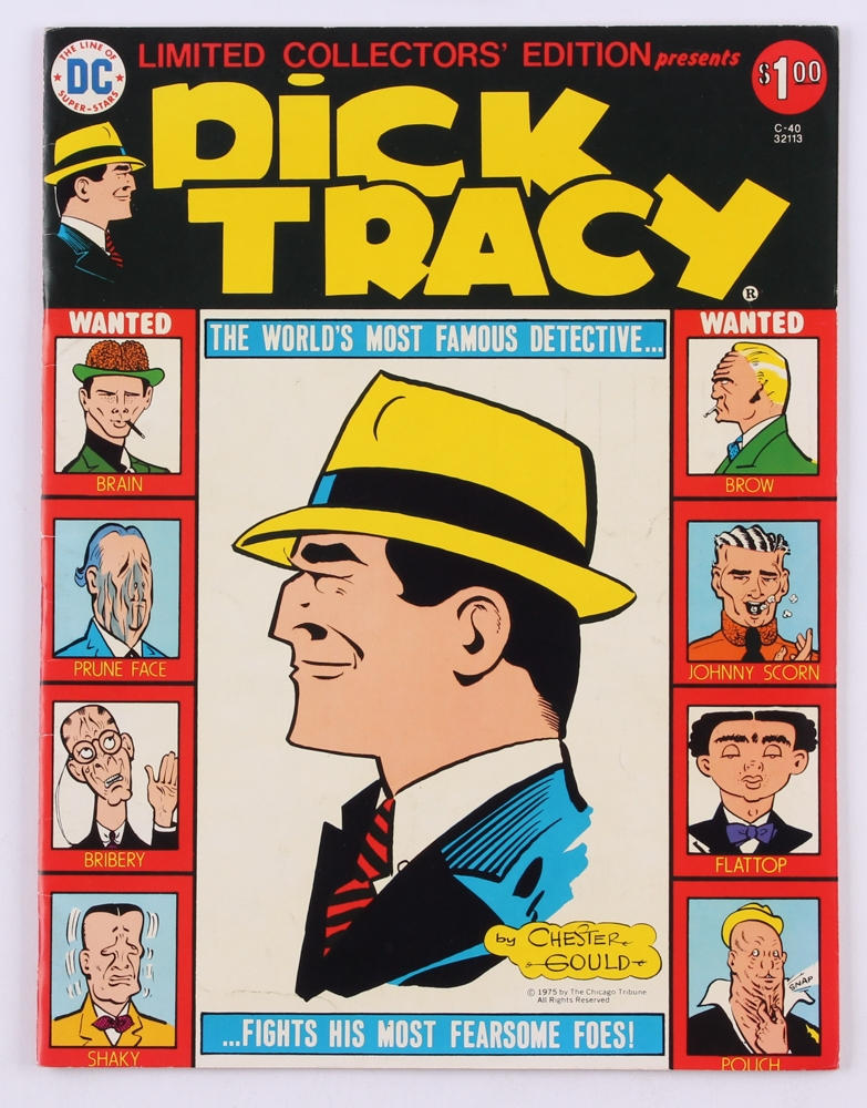 Dick Tracy in Collectible Comics eBay