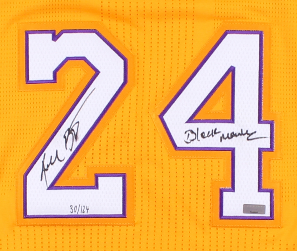 Kobe Bryant Signed LE Lakers Authentic Adidas On-Court Jersey Inscribed