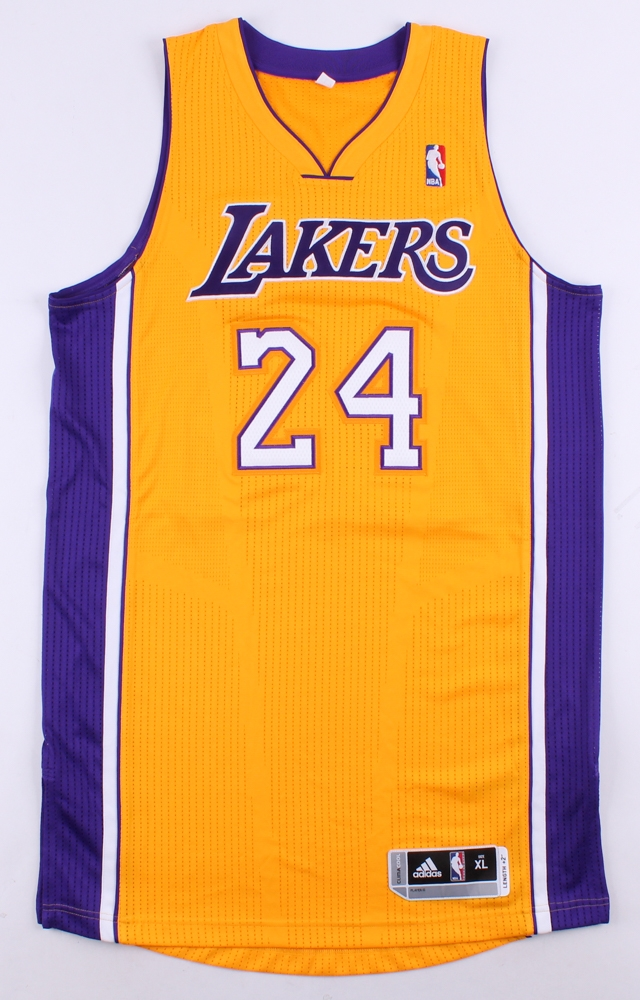 bd8b5a4be Kobe Bryant Signed LE Lakers Authentic Adidas On-Court Jersey Inscribed