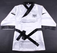 Mike Tyson Signed Full-Size Everlast Boxing Robe (JSA COA)