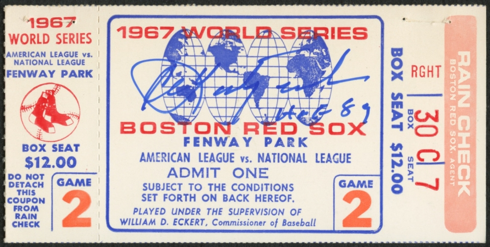 Image result for GAME 2 WORLD SERIES 1967