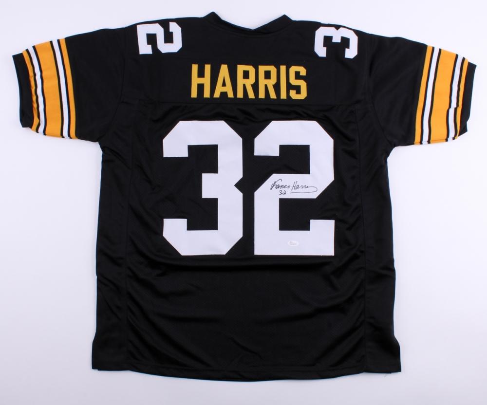 9dabf6eb0 Franco Harris Signed Steelers Jersey (JSA COA) at PristineAuction.com ...