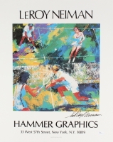 "LeRoy Neiman Signed ""Tennis"" 17x21 Lithograph (JSA COA) at PristineAuction.com"