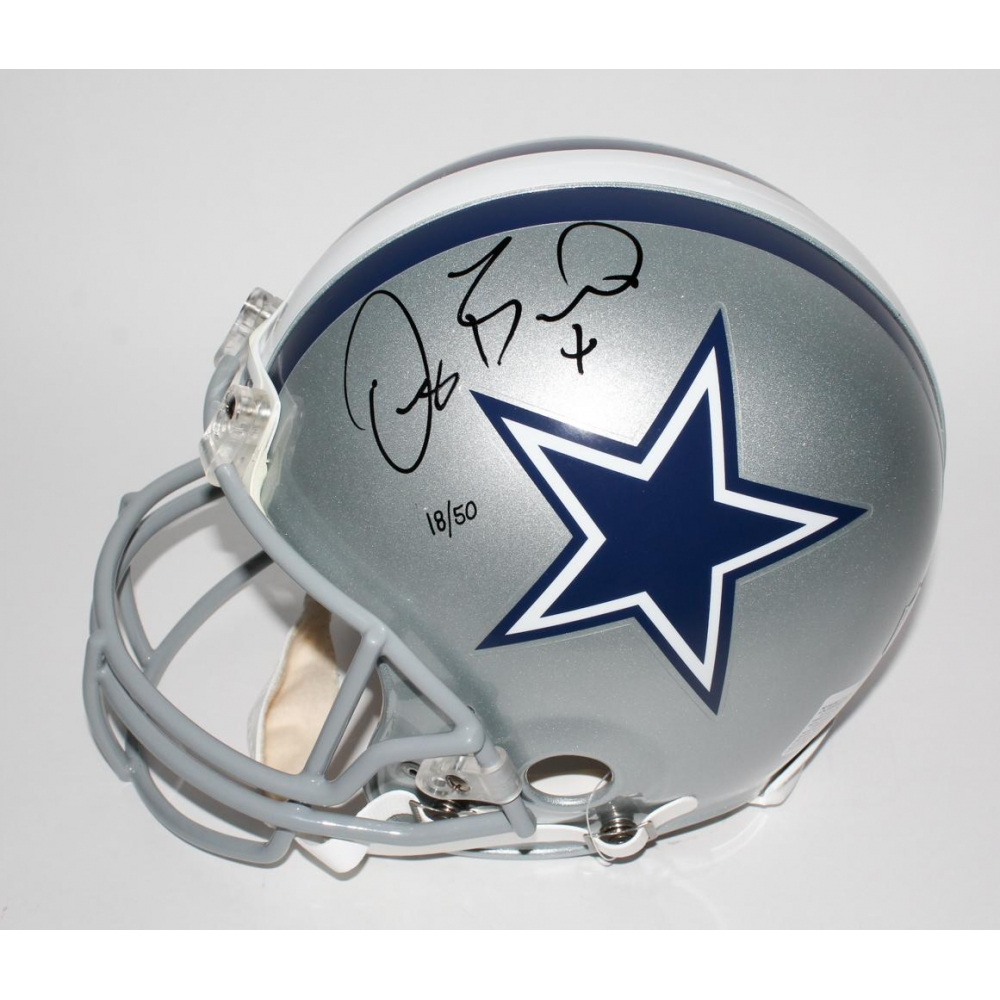 Dez Bryant Signed Le Cowboys Full Size Authentic Pro Line