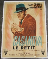 Vintage Casanova Le Petit 49x65 Movie Poster on Canvas (PA LOA)