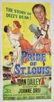 Vintage The Pride of St. Louis LE 46x83 Movie Poster (PA LOA)