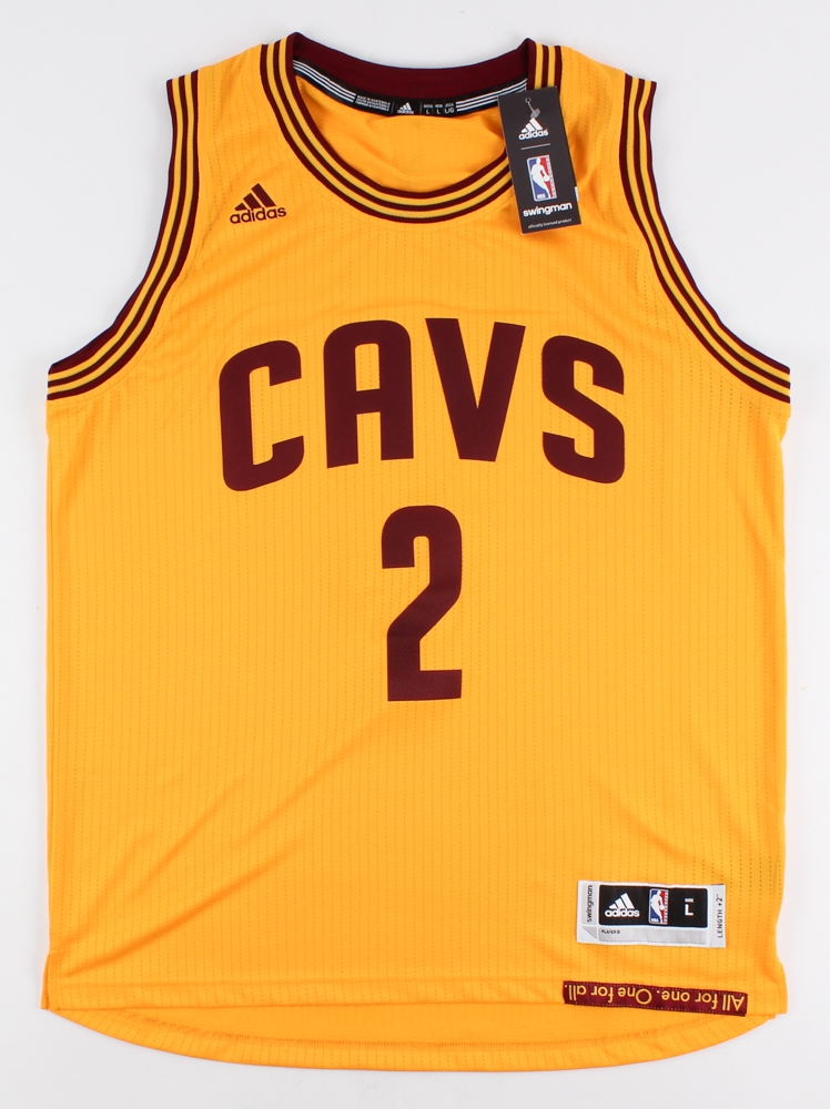 4a08e51dc18 ... czech kyrie irving signed le cavaliers adidas swingman jersey inscribed  15 16 nba champ 24982 6fe6b