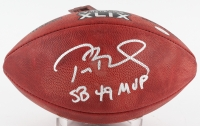 "Tom Brady Signed Super Bowl XLIX NFL Official Game Ball Inscribed ""SB 49 MVP"" (TriStar Hologram)"