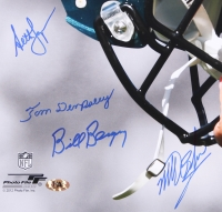 Eagles 16x20 Photo Signed By (5) Including Bill Bergey, Matt Bahr, Tom Dempsey (MAB Hologram) at PristineAuction.com