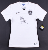 "Alex Morgan Signed LE Team USA Soccer Jersey Inscribed ""Team USA"" & ""15 WC Champs"" (Steiner COA & Lojo COA)"
