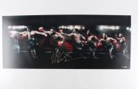 """Mike Tyson Signed LE """"Round House"""" 15x36 Photo (UDA COA)"""