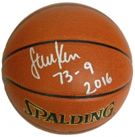 Steve Kerr Signed Spalding NBA Indoor/Outdoor Basketball w/73-9, 2016 at PristineAuction.com