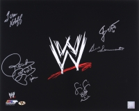 WWE 16x20 Photo Signed by (5) with Ivan Koloff, Roddy Piper, Jimmy Hart, Fifi the Maid, & Bruno Sammartino (MAB Hologram)