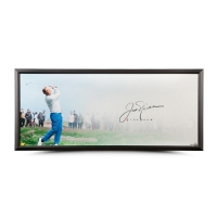 "Jack Nicklaus Signed ""The Drive"" 20x46 Custom Framed Photo (UDA COA)"