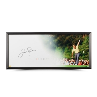 "Jack Nicklaus Signed ""The Putt"" 20x46 Custom Framed Limited Edition Photo (UDA COA) at PristineAuction.com"
