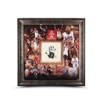 """Allen Iverson Signed 76ers """"Career"""" LE 42x42 Custom Framed Tegata Display (UDA COA) at PristineAuction.com"""